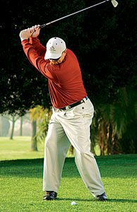 Shift Your Weight On The Backswing