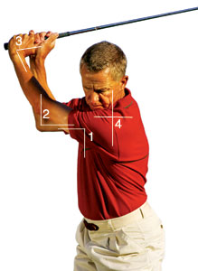 make elbow room for iron play success  golf tips magazine