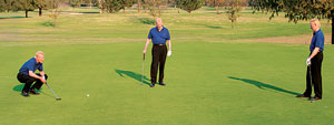 Triangulate Your Putts