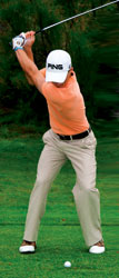 Is your swing out of date? Top of backswing