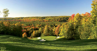 great lakes golf Treetops Fall