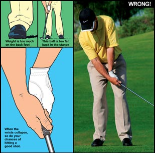 common chipping errors