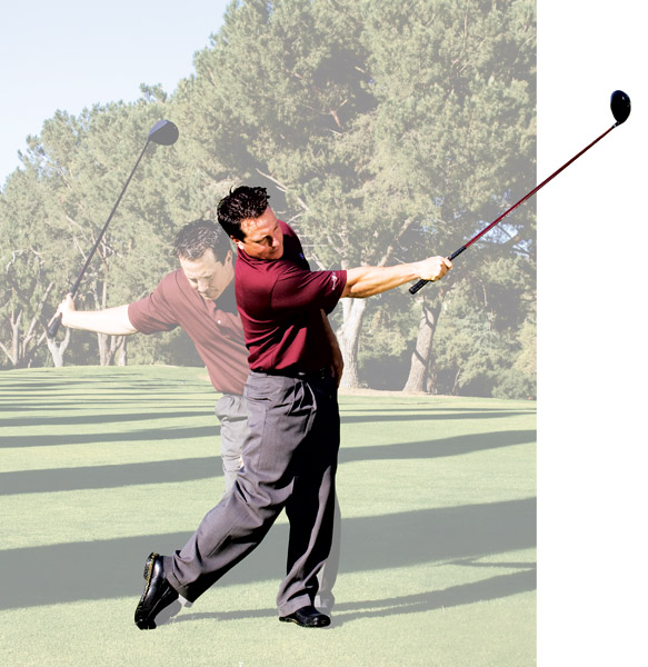 how to stay balanced in golf swing follow through