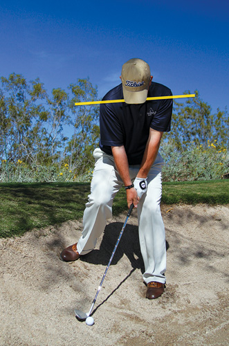 golf fairway bunker shot instruction
