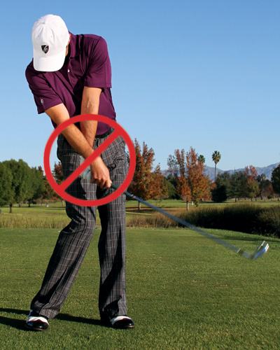 simple golf swing instruction