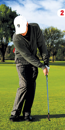 how to become a better ball striker in golf