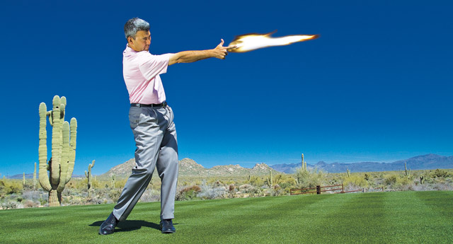 Outdraw The Slice Outlaw Golf Tips Magazine
