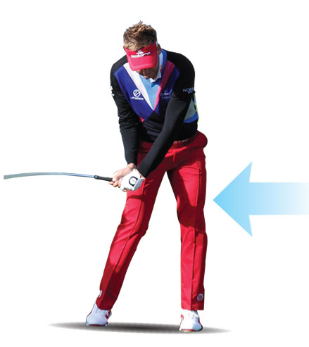Ian Poulter-late lag