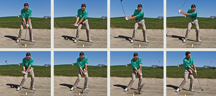 vertical golf swing instruction
