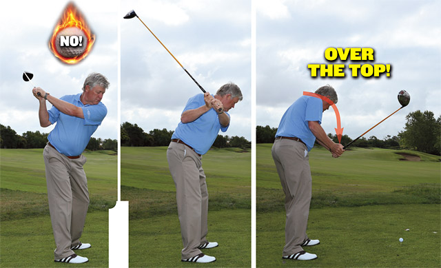 You Want A Swing With Driver Thats More Inside To Out Not Outside In