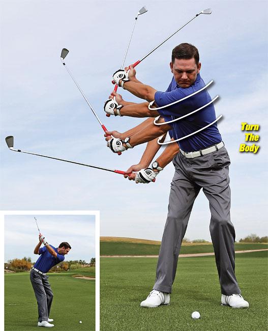 6 Piece Golf Swing