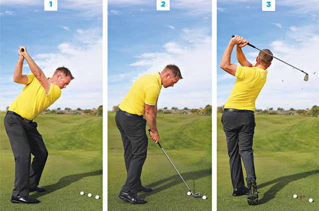 Here's a drill that will help you get better at making contact in the center of the club face