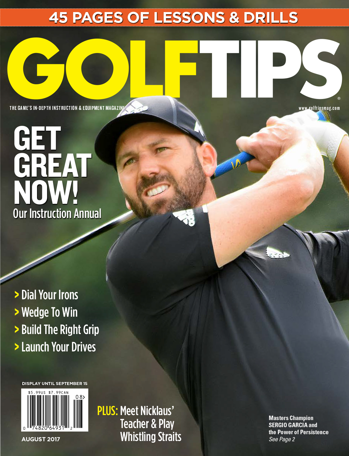 Golf Tips Cover July-August 2017