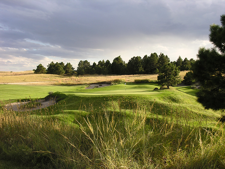 The Bandon Of The Midwest: Prairie Club Pines Hole No. 9