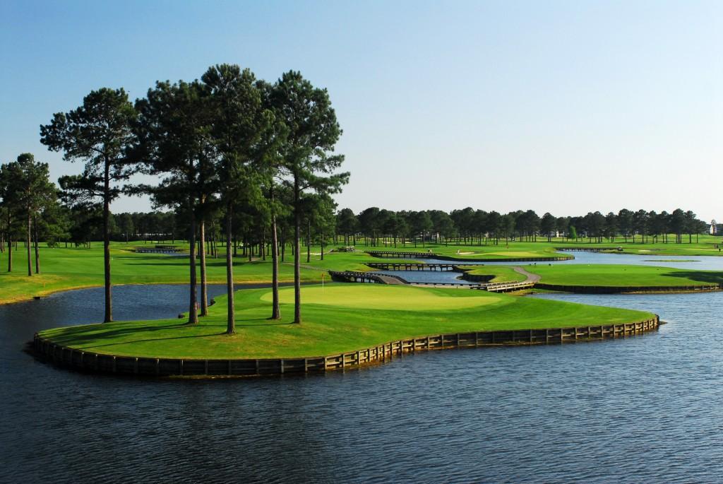 Mystic Golf's Man-O-War Island Greens