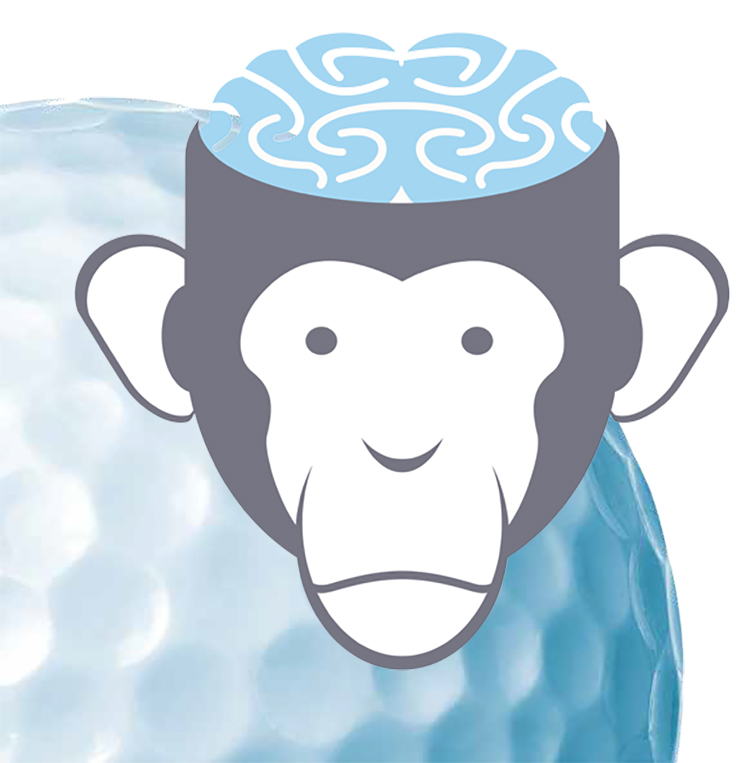 A Chimp And A Golfer