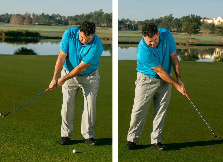 Anti-Fundamentals: Chipping With Stiff Arms