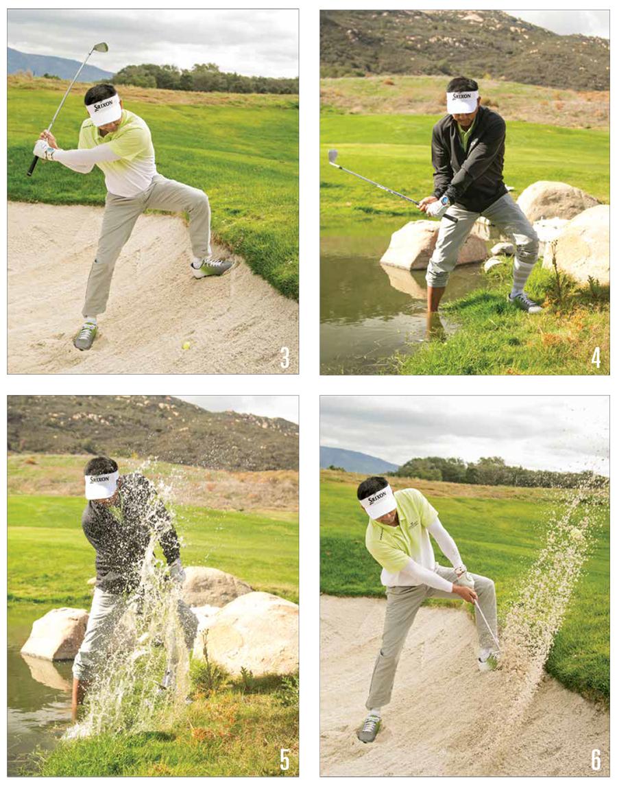 Golf Water Blast