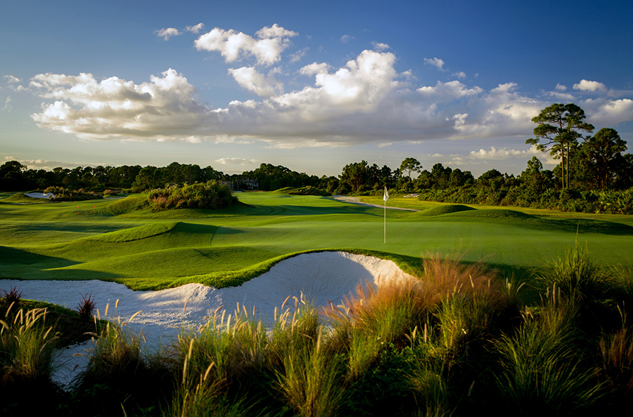 PORT ST. LUCIE, FLORIDA - NOVEMBER 01: A view of the DYE course at PGA Golf Club on October 31, 2016 in Port St. Lucie, FL. (Photo by Montana Pritchard/The PGA of America)