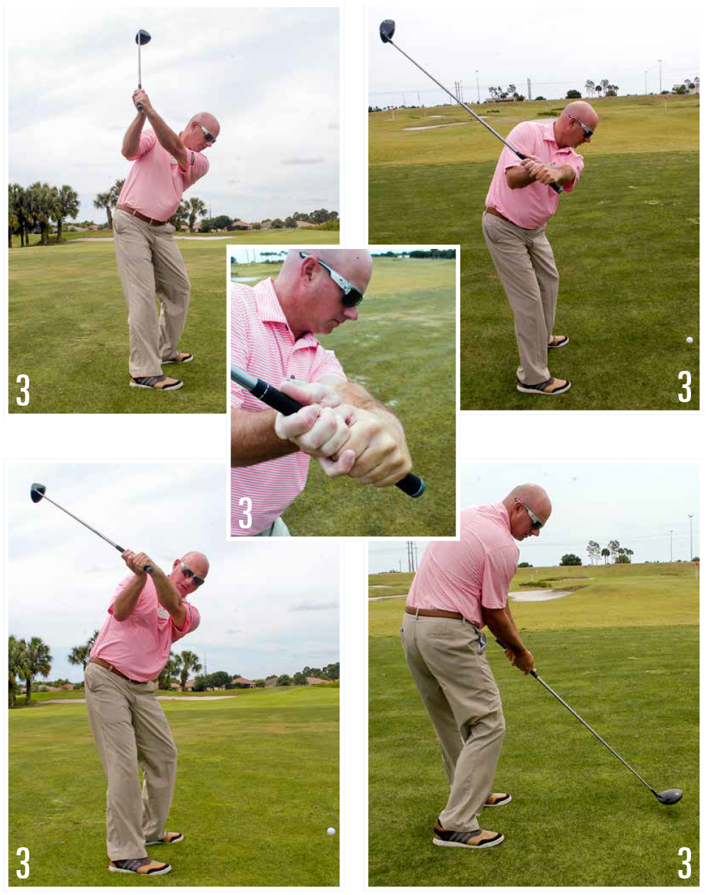 Driver Swing Sequence By Billy Ore