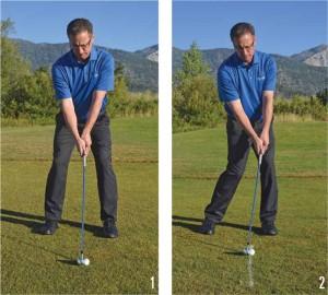 fat and thin golf shots 1-2