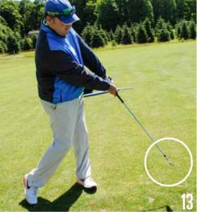 Shape Your Golf Shots-Open Face