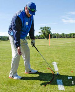 Shape Your Golf Shots-closed stance