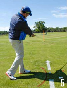 Shape Your Golf Shots-Draw Small Swing