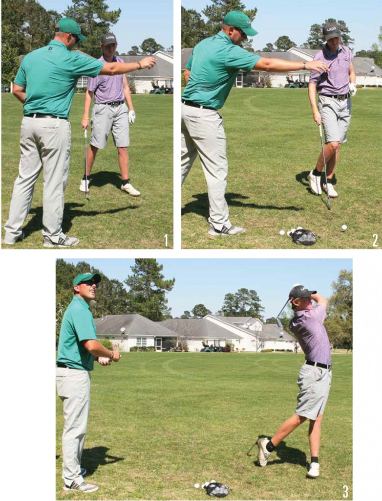 golf mental game-drop and go
