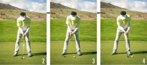 putting speed control-stroke