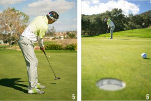 putting speed control-roll