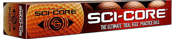 Sci-Cor Practice Golf Ball