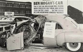 Golf body type-Hogan crash