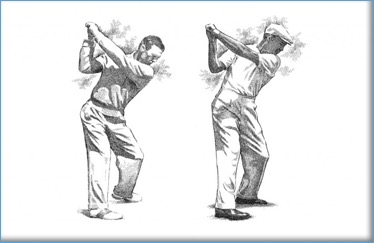 Golf body type-Hogan swings