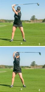 Lisa Longball Power Game Backswing