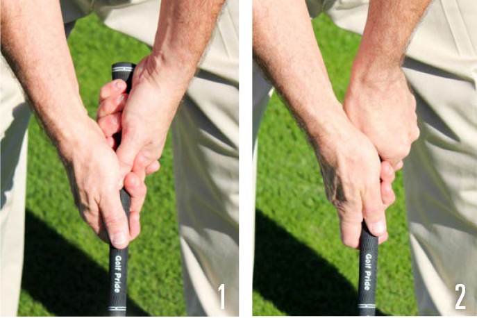 Build A Golf Grip 1-2