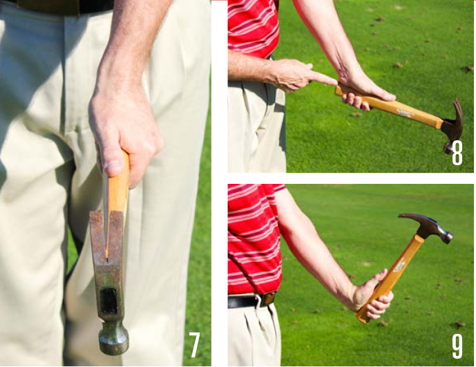 Build A Golf Grip 7-9
