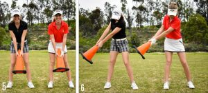 True Golf Swing 5-7