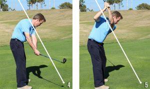 Golf Posture 4-5