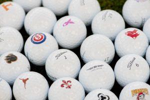 holiday gift guide 2017 logo golf balls