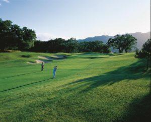 sonoma mission inn golf at sunset