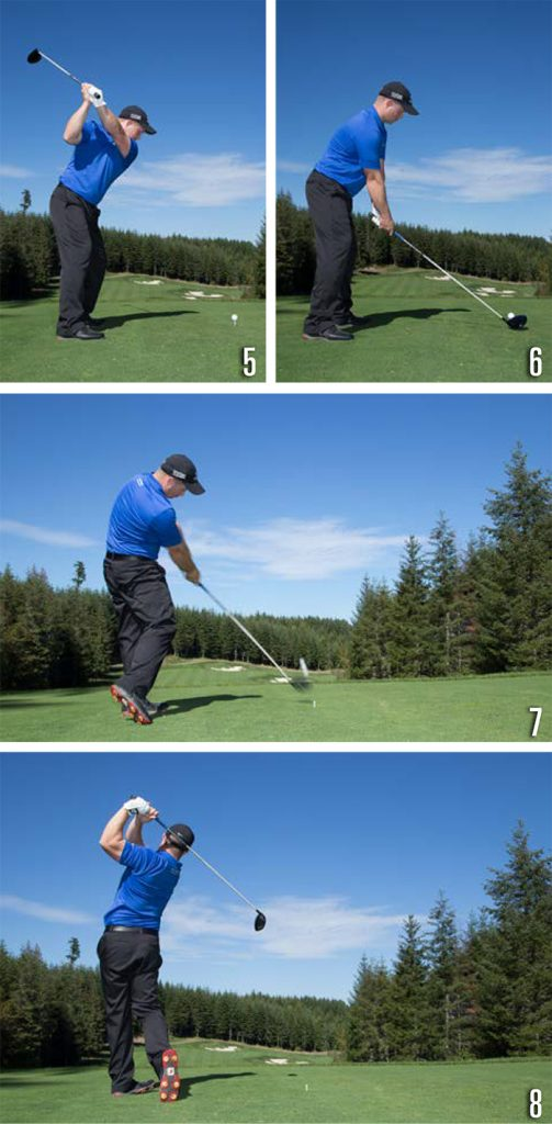 Golf Power and Accuracy 5-8
