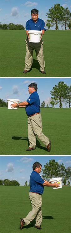 golf balance bucket brigade