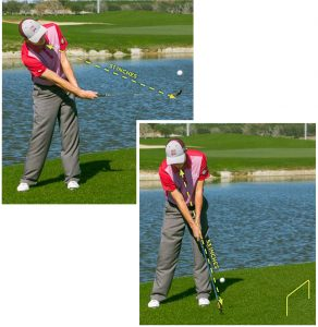 scoop the clubhead distance