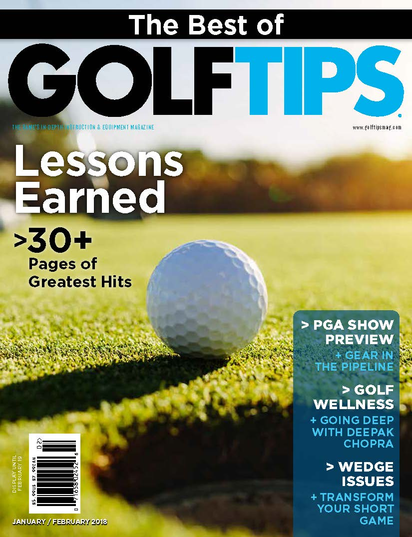 Golf Tips Cover Jan-Feb 2018