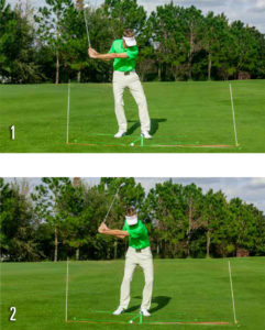 Hit A Draw Downswing Photos 1-2