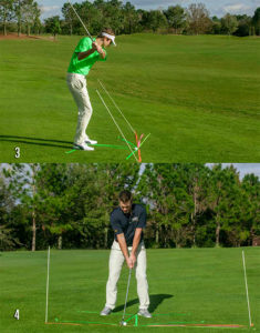 Hit A Draw Downswing Photos 3-4