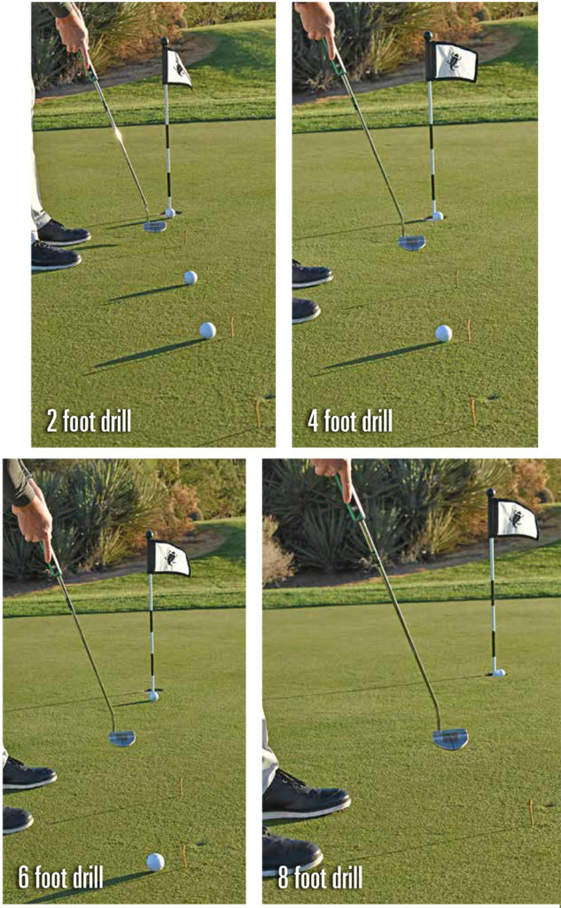 short game drills ladder drill