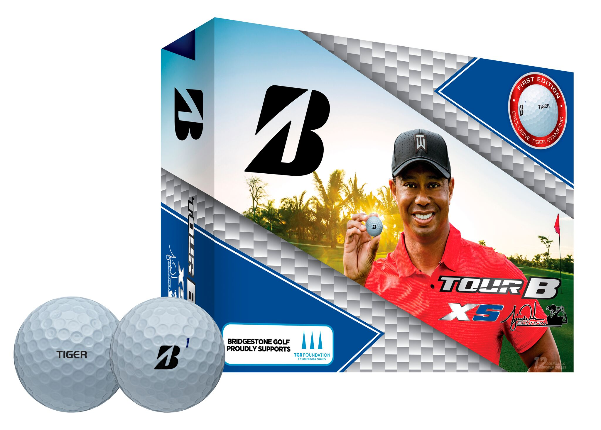 Tiger Woods Edition Golf Balls