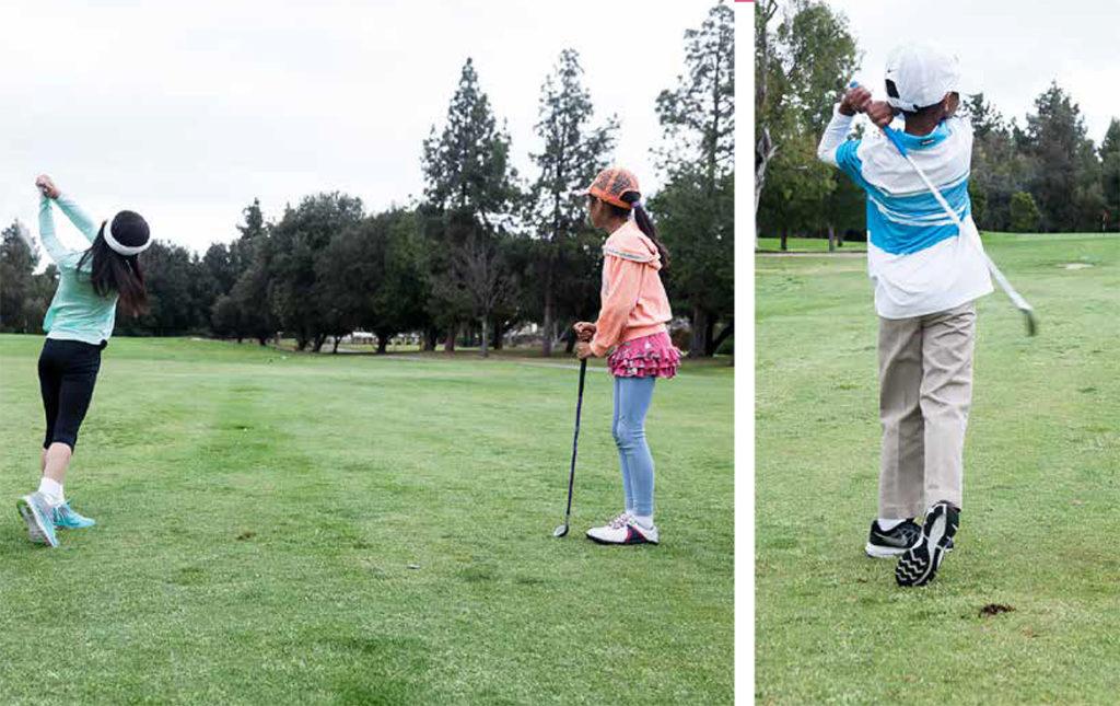 junior golfer full swing drills (2)